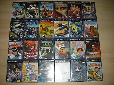 Playstation 2 Spiele ( Barbie, Harry Potter, Need for Speed, San Andreas ..) PS2