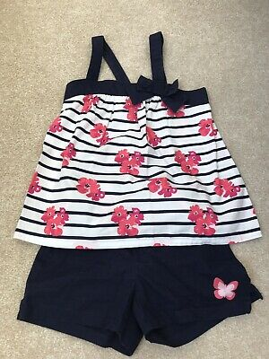 Gymboree Girls Sun Top And Shorts Age 6 Years