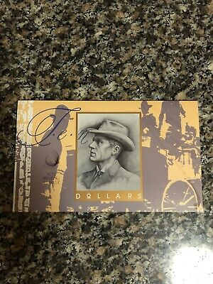 Australian $10 Fraser/Cole Banknotes 2 Note Folder First And Last Prefix Notes