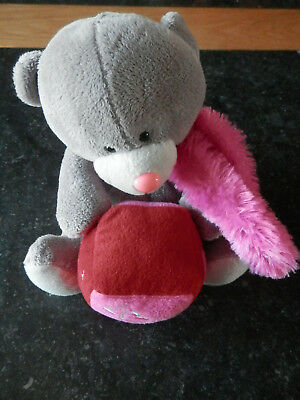 """Ours en peluche """"Nicky Toy"""" - 20cm assis"""