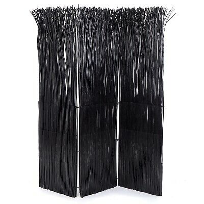 PARAVENT NATURE | black,160x120cm(HxW) willow twig room divider, partition wall