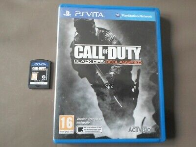 Call Of Duty Black Ops Declassified ( Ps Vita - Sony )