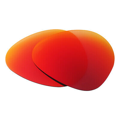 Sunglasses Polarized Replacement Lenses for Ray-Ban Aviator RB3025 55mm Fire Red