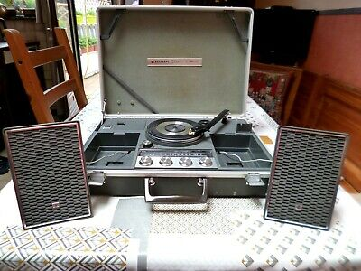 National Panasonic SG-725 Radio Tourne-disques portable Turntable Platenspelers