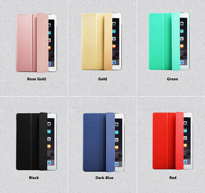 Smart Cover iPad Case for iPad 7 10.2/Mini 7.9/iPad6,5 9.7/Air 2/Pro 12.9 3Gen