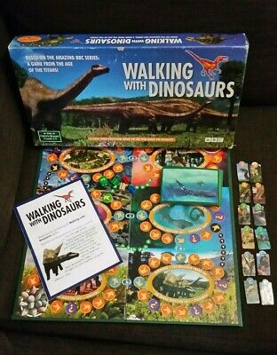 Walking With Dinosaurs Board Game BBC The Green Board Game Complete VGC