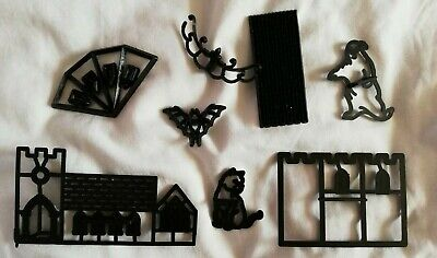 Assorted patchwork cutters Halloween and Church theme