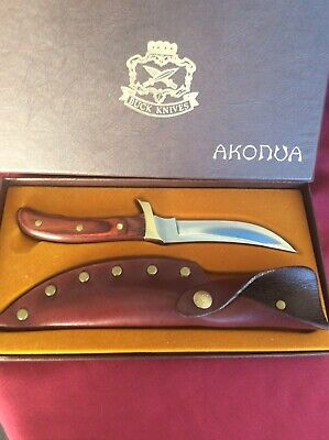 Vintage Buck Akonua 402 Knife Usa
