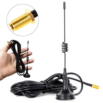 SMA-Female Dual Band Magnet Antenna For BaoFeng BF-888S UV5R Walkie-talkie Radio