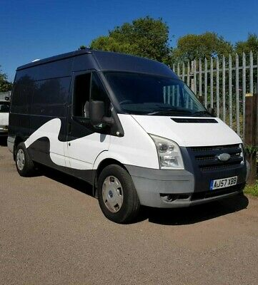 Ford Transit GLX 110 T350 FWD MWB Mobile Steam Cleaning Van +vat