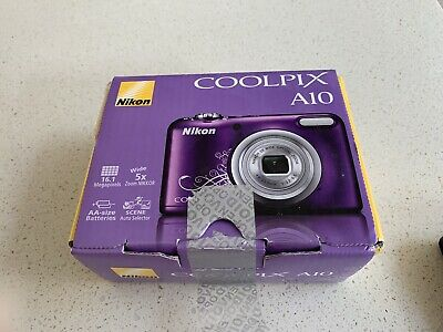 Nikon Cooloix a10 In Box And Original Packaging