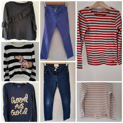 Large Girls Multi Listing Clothes Bundle 7, 7-8 & 8 Years (Boden, Next, Joules)