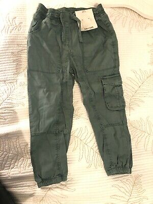 Next Girls Summet Cargo Trousers 6 Years