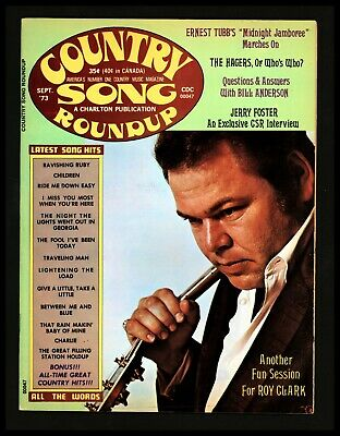 """""""Country Song Round up"""" 1973/Sept Roy Clark Cover Bill Anderson The Hagers"""