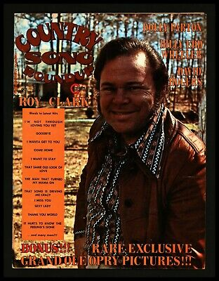 """Country Song Round up"" 1974/Oct Roy Clark Cover + Dolly Parton"
