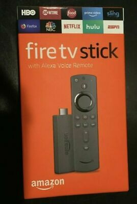 Amazon Fire TV Stick 2019 Alexa Voice Remote with TV Control Buttons, BRAND NEW