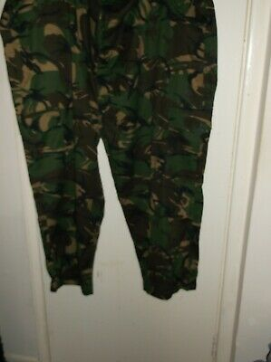 mens camoflage trouses size 60ins 152cms new