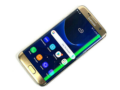 Samsung Galaxy S7 edge SM-G935F - 32GB - Gold (Unlocked) POOR CONDITION, 524
