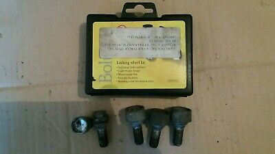 Vauxhall Corsa C Locking Wheel Studs &  Removal Key Nuts (2000-2006)