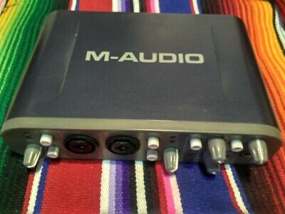M-Audio Fast Track Pro USB Recording Interface.