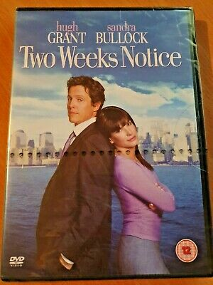 *New & Sealed* DVD - Two Weeks Notice - Hugh Grant - Rom Com - UK Region 2