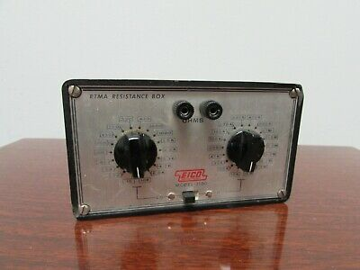 Eico Model 1100 Rtma Resistance Box Excellent Condition (Bjr8026)