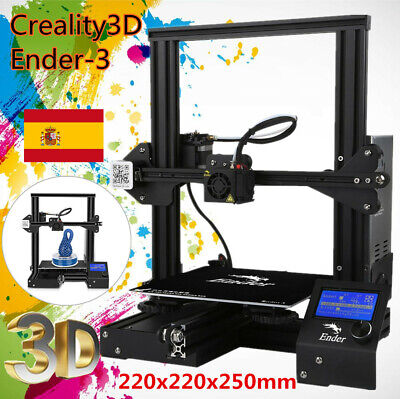 DIY Kit Creality 3D Ender 3 Prusa I3 Impresora 3D printer 220 x 220x250 mm