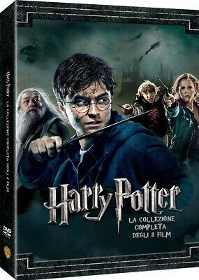 5051891160750 1334232 Harry Potter Collection (Standard Edition) (8 Dvd)