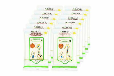 PÜRDOUX™ 100% Cotton Wipes for Babies and Children with Aloe Vera and Chamomi...