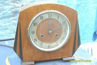 Clock Parts Clock Haller Movement Key  & Pendulum Tatty Case