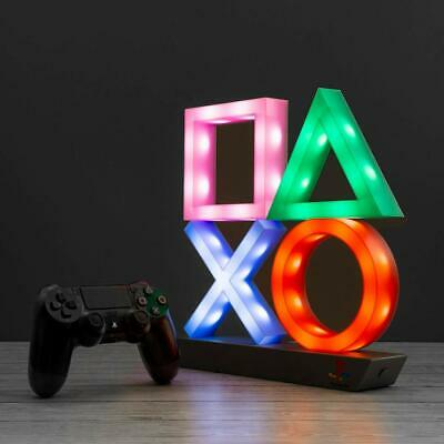Playstation Icons Light XL | 3 Light Modes - Music Reactive Game Room Lighting |