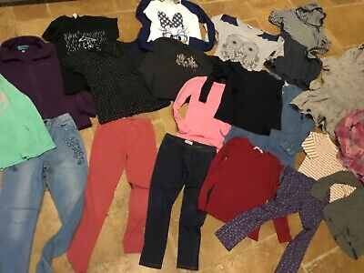 Large bundle, over 29 items, girls winter clothes, age 11-12