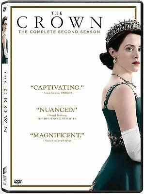 The Crown - Season 2 [DVD] [2018] New Sealed UK Region 2 - Claire Foy