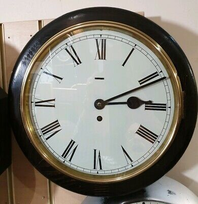 Vintage Wooden Office/Kitchen Wall Clock with Platform Escapement