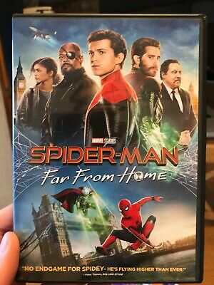 Spider-man: Far From Home (DVD only) it's like brand new.