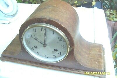 Clock Parts  Hac  Clock Ticking For  Spares Striking  On A  Coil