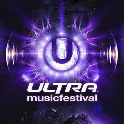 Ultra Music Festival 3-DAY GA Weekend Tickets -General Admission 2020 Wristbands