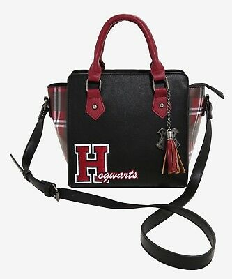 Harry Potter Hogwarts Varsity Crossbody Bag Purse Satchel Handbag NEW
