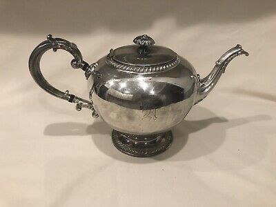 Antique 1931 Reed & Barton Silver Plated Tea Pot # 4090 Exc. Condition!