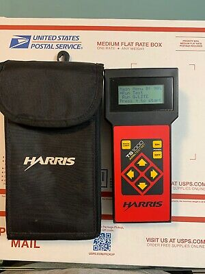 Harris TS1000 TS 1000 ADSL Test Set with Case, Working