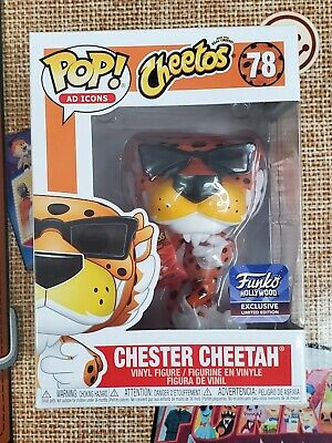 Funko Pop Hollywood HQ Chester Cheetah W/Cheetos Grand Opening 2019 Ex in hand!