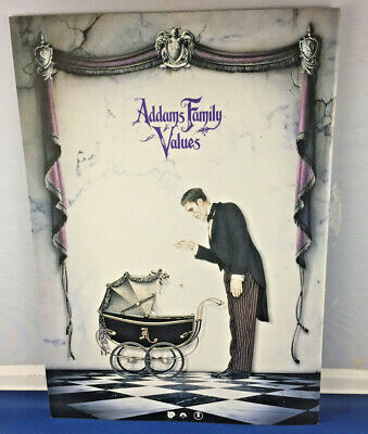 Japanese Movie Brochure - The Addams Family Values - Horror / comedy