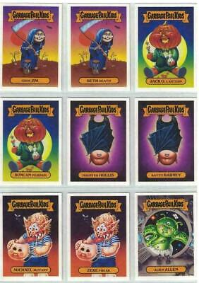 2019 Garbage Pail Kids Revenge Of Oh The Horror-Ible Classic Monster Set