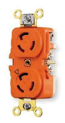 HUBBELL WIRING DEVICE-KELLEMS IG4700A 15A Isolated Ground Duplex Locking
