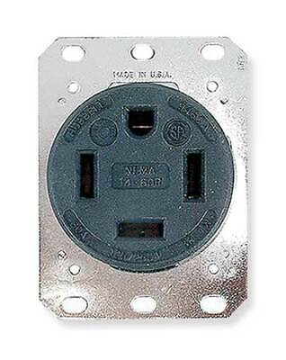 HUBBELL WIRING DEVICE-KELLEMS HBL 9460A 60A 4 Wires 250V Receptacle 14-60R USA