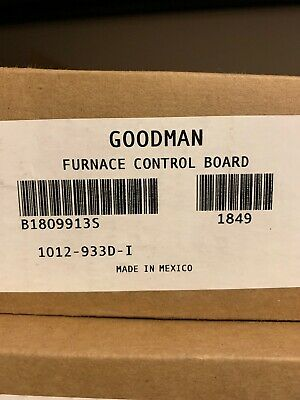 Goodman B1809913S furnace control board Brand New