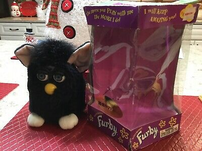 Vintage Electronic Furby In Box