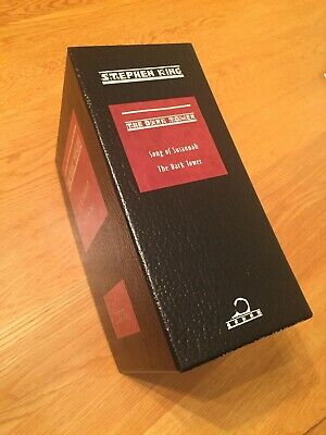 Stephen King - Song of Susannah and The Dark Tower slipcase - FREE SHIPPING