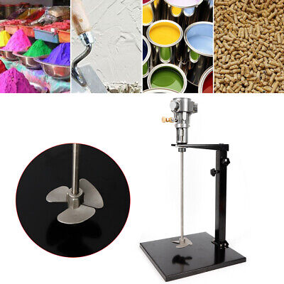 5 Gallon 20L Pneumatic Paint Mixer With Stand Paint Coating Mixing Tool 1/4HP