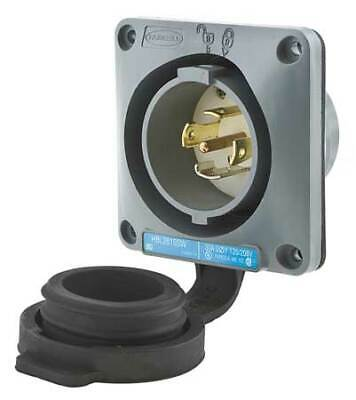 HUBBELL WIRING DEVICE-KELLEMS HBL2815SW 30A Watertight Flanged Twist-Lock Inlet